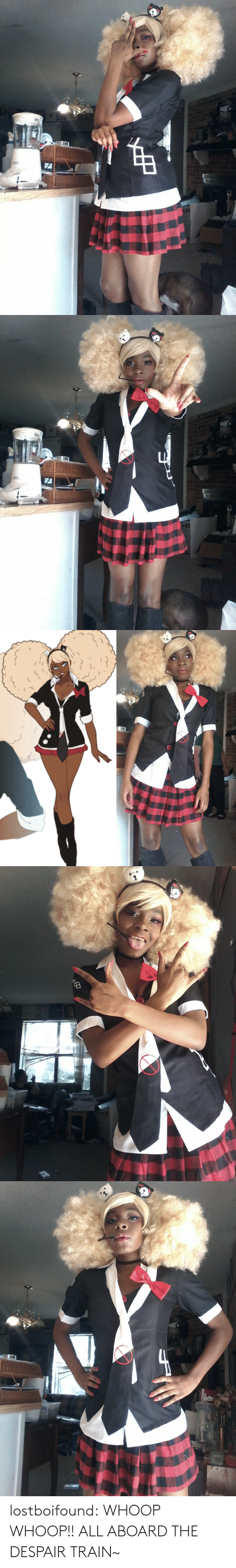 Tumblr, Blog, and Train: lostboifound:  WHOOP WHOOP!! ALL ABOARD THE DESPAIR TRAIN~
