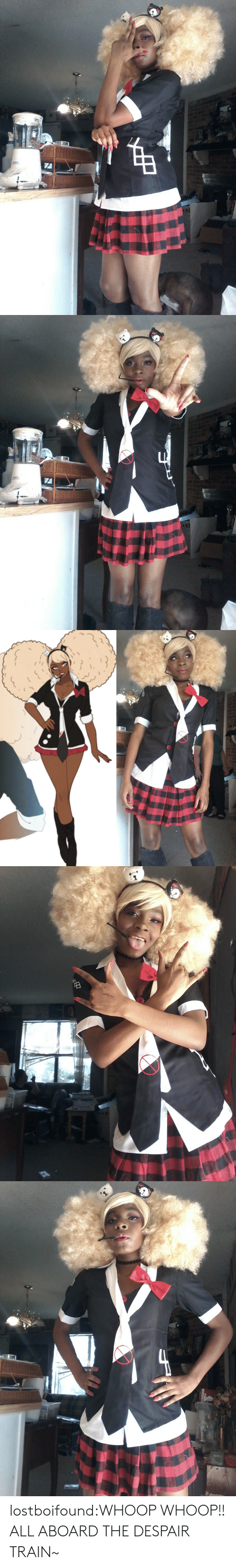 Tumblr, Blog, and Train: lostboifound:WHOOP WHOOP!! ALL ABOARD THE DESPAIR TRAIN~