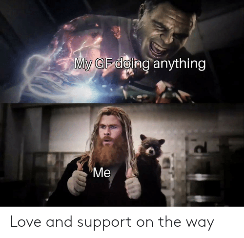 support: Love and support on the way