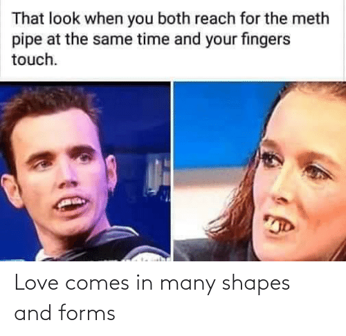 shapes: Love comes in many shapes and forms