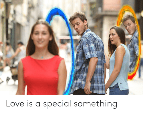 Love,  Something, and Special: Love is a special something