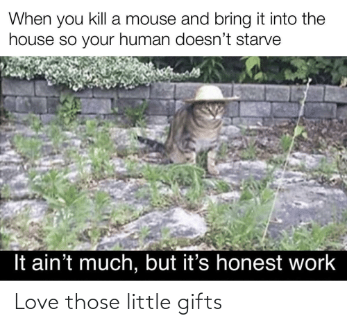 gifts: Love those little gifts