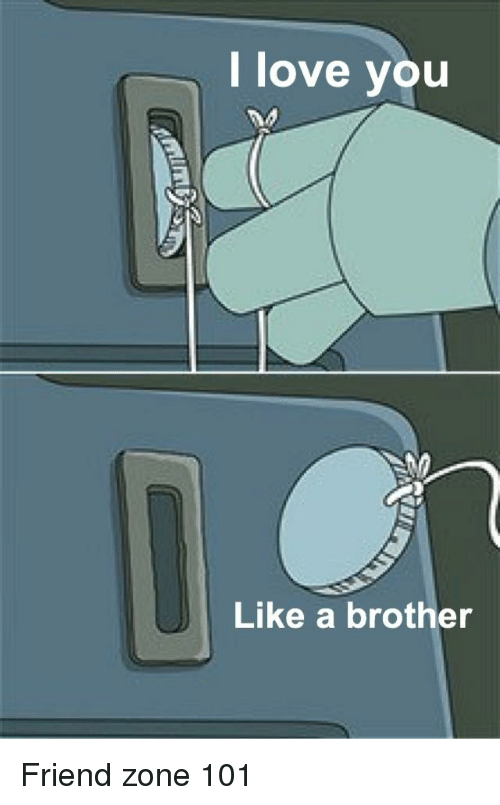 Funny, Love, and Brother: love you  Like a brother