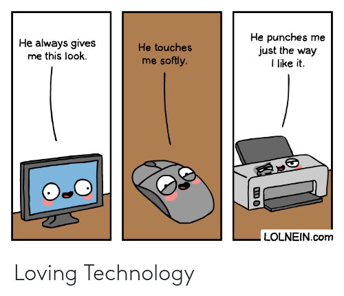 Loving: Loving Technology