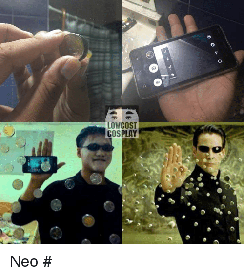 Low Cost Cosplay : LOW COST  COSPLAY Neo  #แอดมินเช็ดขี้
