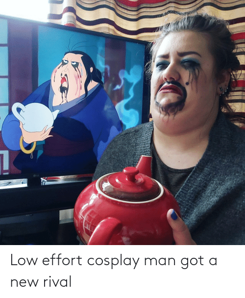 A New: Low effort cosplay man got a new rival