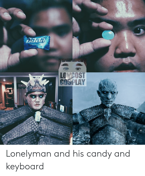 cosi: LOWCOST  COSI LAY Lonelyman and his candy and keyboard