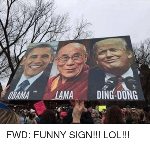 forwardsfromgrandma: MA  DING DONG FWD: FUNNY SIGN!!! LOL!!!