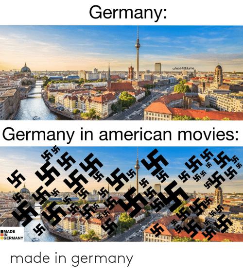 In Germany: made in germany