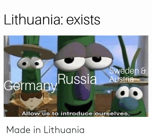 Lithuania: Made in Lithuania