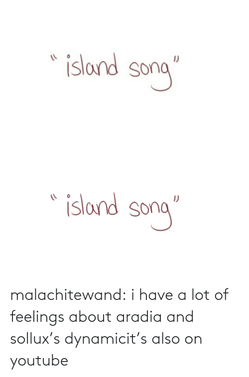 A Lot: malachitewand:  i have a lot of feelings about aradia and sollux's dynamicit's also on youtube