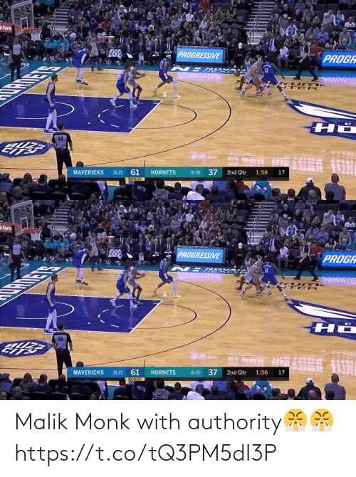 Authority: Malik Monk with authority😤😤 https://t.co/tQ3PM5dI3P