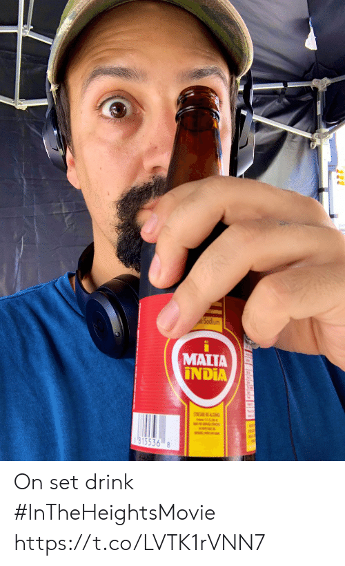 Memes, India, and 🤖: MALTA  INDIA  CONTAIN NO AC  815536 8 On set drink #InTheHeightsMovie https://t.co/LVTK1rVNN7