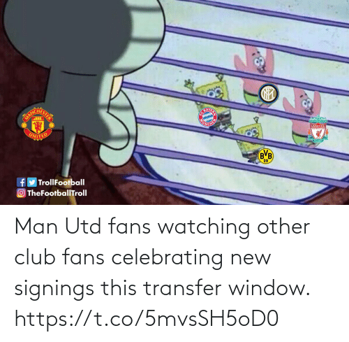 utd: Man Utd fans watching other club fans celebrating new signings this transfer window. https://t.co/5mvsSH5oD0