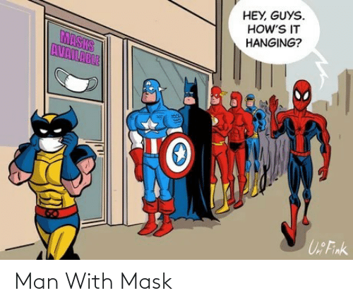 man: Man With Mask