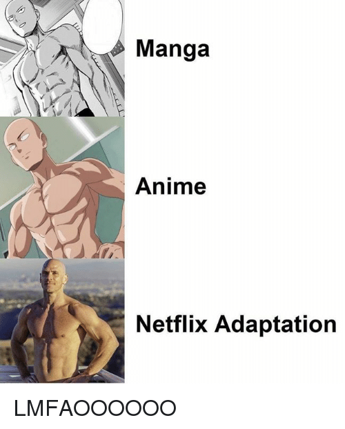 Anime, Netflix, and Manga: Manga  Anime  Netflix Adaptation LMFAOOOOOO