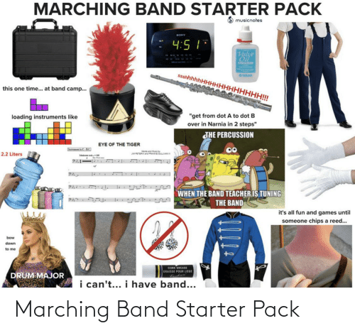 Marching: Marching Band Starter Pack