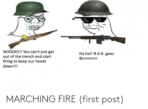 Marching: MARCHING FIRE (first post)