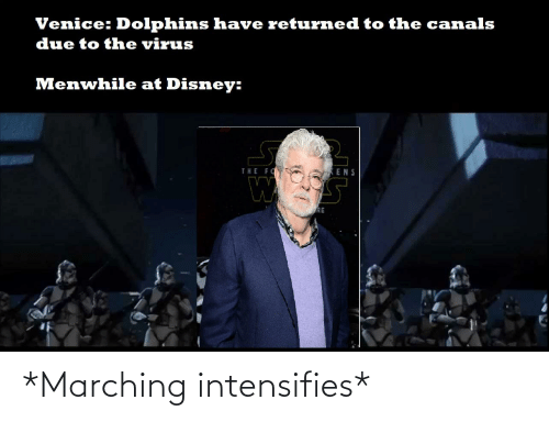 Marching: *Marching intensifies*
