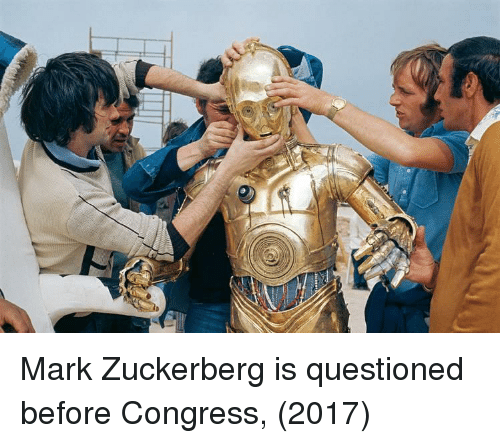 Mark Zuckerberg, Congress, and Zuckerberg: Mark Zuckerberg is questioned before Congress, (2017)