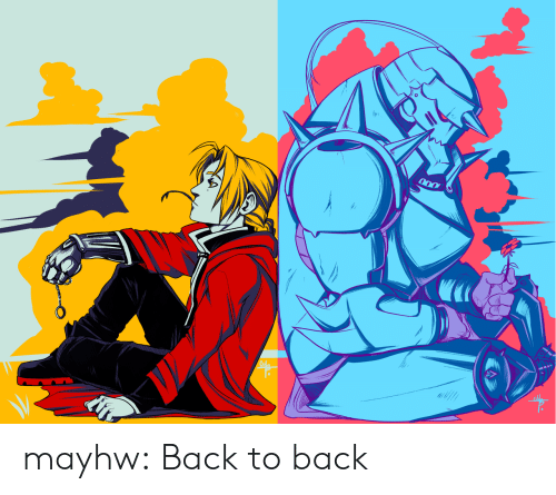 Back to Back, Tumblr, and Blog: mayhw: Back to back