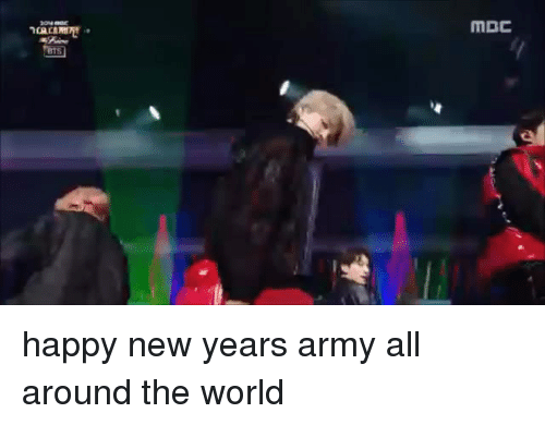 Happy New Years: MBC happy new years army all around the world
