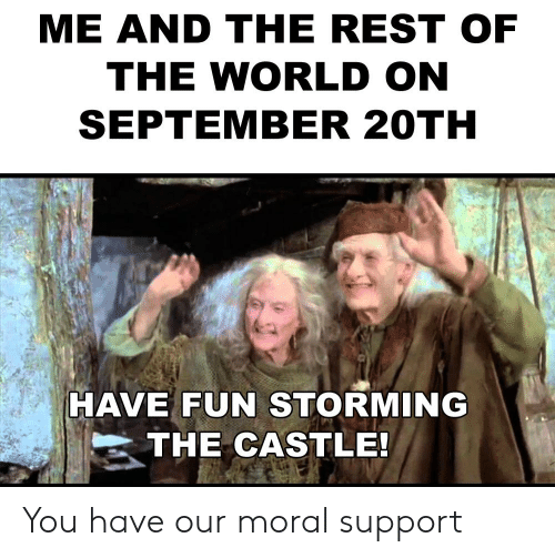 Castle and Castle Meme on Conservative Memes