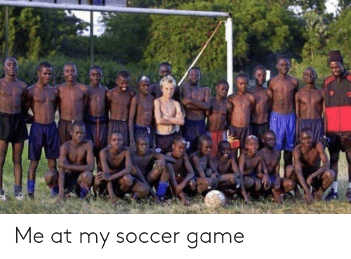 Soccer, Game, and Soccer Game: Me at my soccer game
