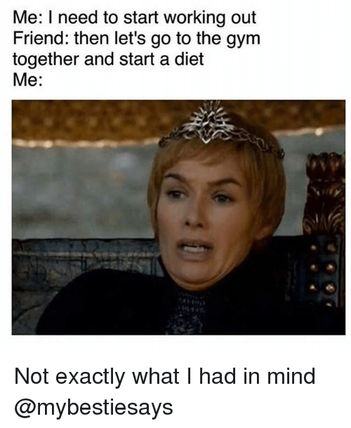 Exactly What You Had In Mind: 25+ Best Memes About Working Out