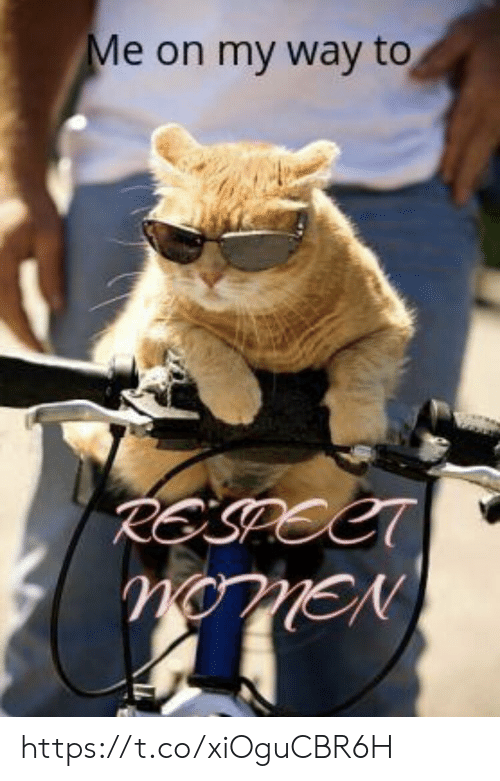 Memes, Respect, and On My Way: Me on my way to  RESPECT  nonEN https://t.co/xiOguCBR6H