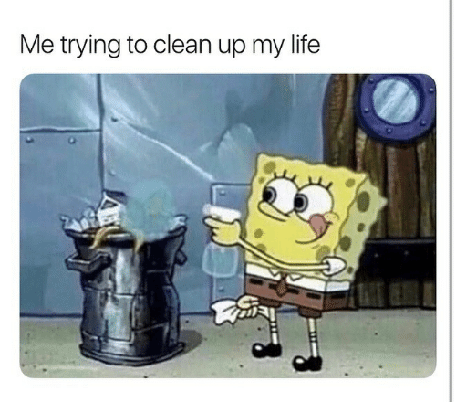 Life, Clean, and  My Life: Me trying to clean up my life