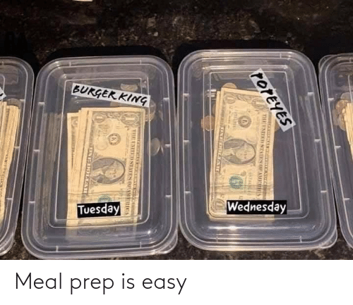 easy: Meal prep is easy