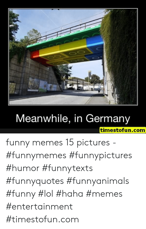 Funny, Lol, and Memes: Meanwhile, in Germany  timestofun.com funny memes 15 pictures - #funnymemes #funnypictures #humor #funnytexts #funnyquotes #funnyanimals #funny #lol #haha #memes #entertainment #timestofun.com