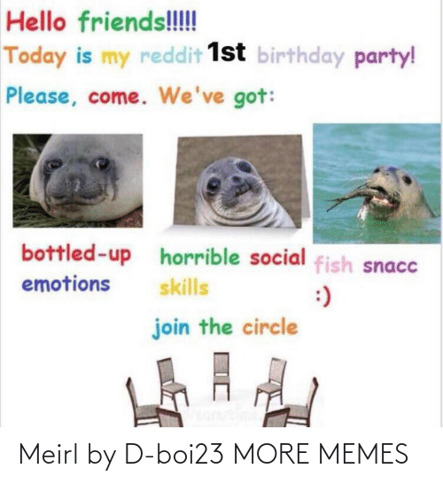 Today: Meirl by D-boi23 MORE MEMES
