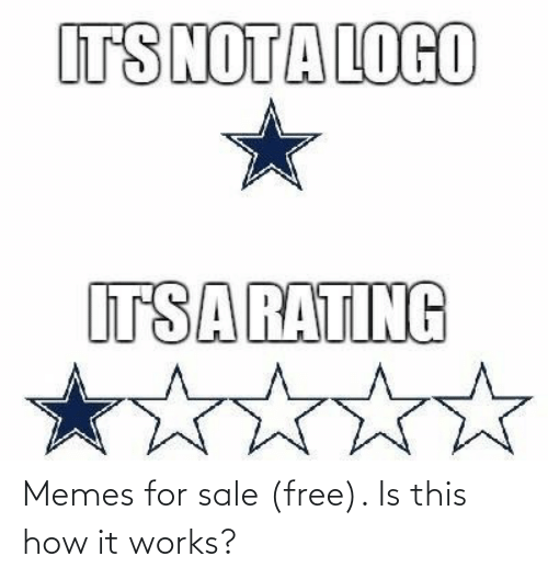 sale: Memes for sale (free). Is this how it works?