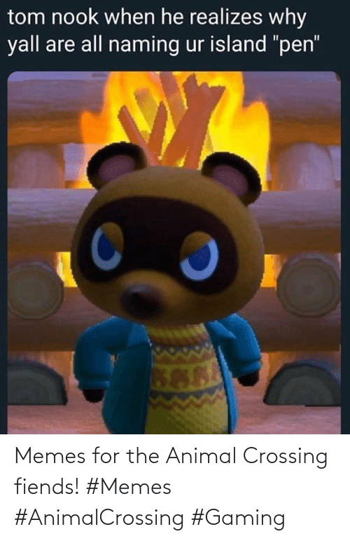 Gaming: Memes for the Animal Crossing fiends! #Memes #AnimalCrossing #Gaming