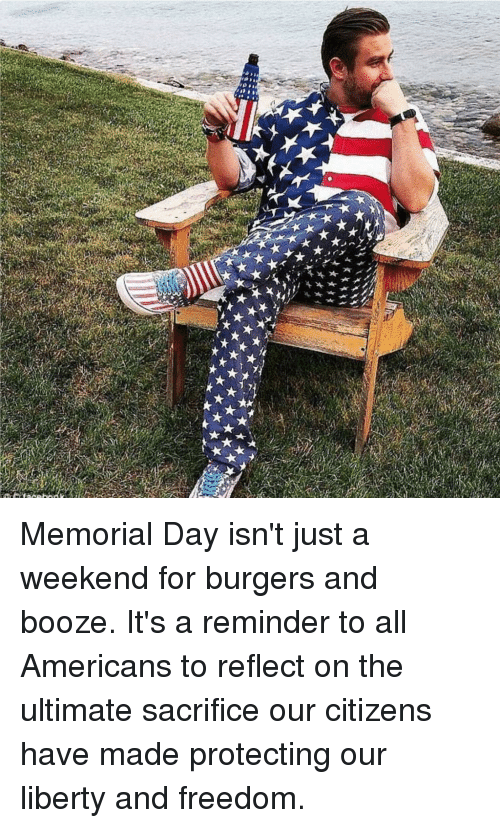Memorial Day, Freedom, and Liberty
