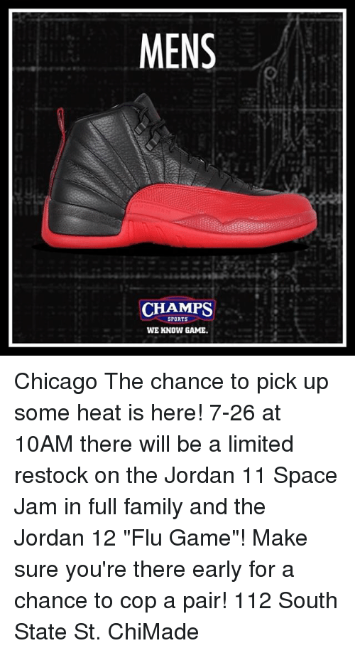 69b3cbc537a Chicago, Family, and Memes: MENS CHAMPS SPORTS WE KNOW GAME Chicago The  chance