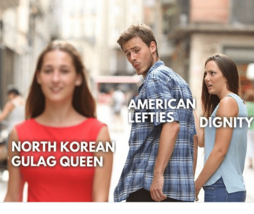 gulag: MERICAN  EFTIES DIGNITY  NORTH KOREAN  GULAG QUEEN