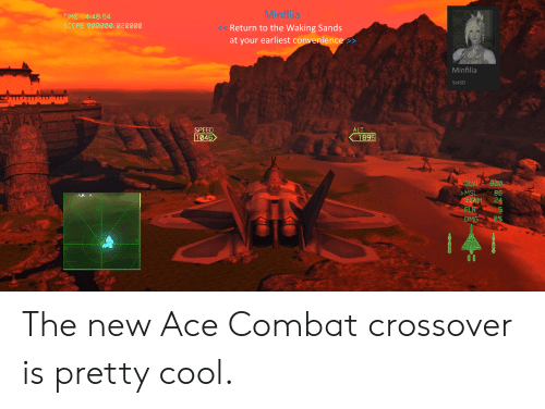 Ace Combat 7 a Close Call or Three | Ace Combat Meme on Conservative