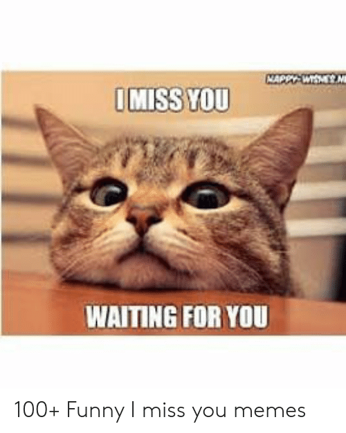 Miss You Waiting For You 100 Funny I Miss You Memes Funny Meme On Conservative Memes