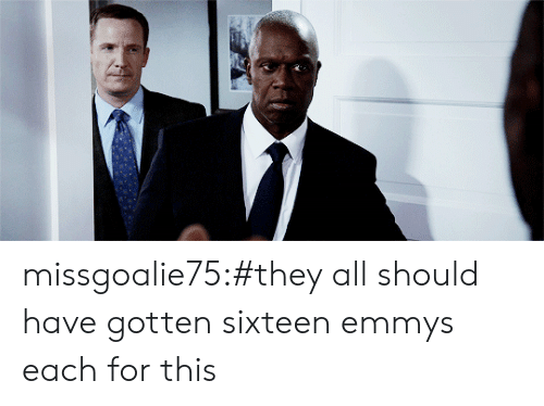 Tumblr, Blog, and Http: missgoalie75:#they all should have gotten sixteen emmys each for this