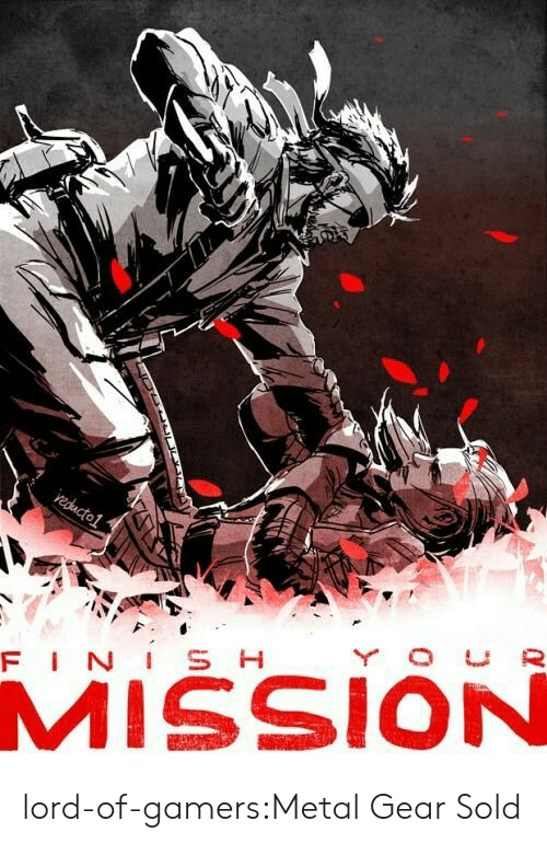 Target, Tumblr, and Blog: MISSION lord-of-gamers:Metal Gear Sold