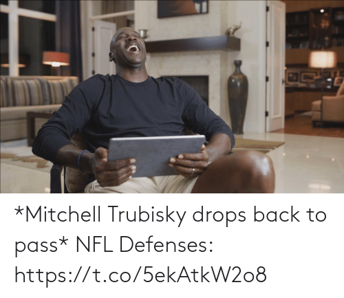 sports: *Mitchell Trubisky drops back to pass*   NFL Defenses: https://t.co/5ekAtkW2o8