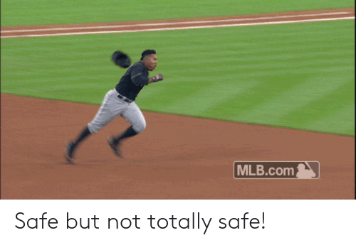 MLB: MLB.com Safe but not totally safe!