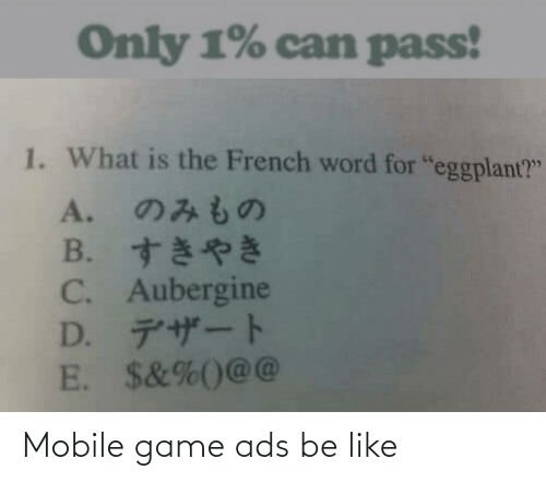 ads: Mobile game ads be like