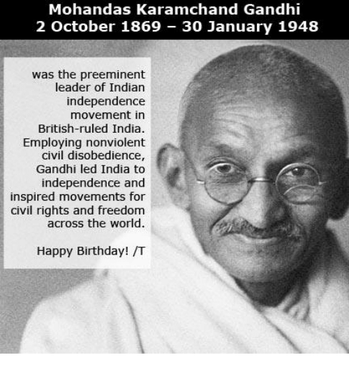 a report on the life of mohandas karamchand gandhi an indian independence movement leader