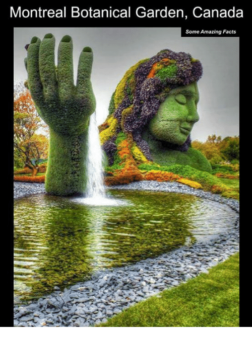 Canadã¡: Montreal Botanical Garden, Canada  Some Amazing Facts