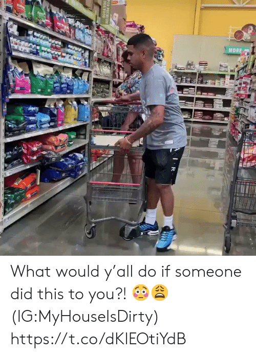Food, Dog, and Did: MORE  IR  PER PREMIUM  DOG FOOD What would y'all do if someone did this to you?! 😳😩 (IG:MyHouseIsDirty) https://t.co/dKlEOtiYdB