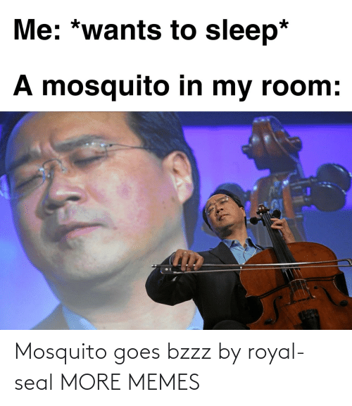 mosquito: Mosquito goes bzzz by royal-seal MORE MEMES